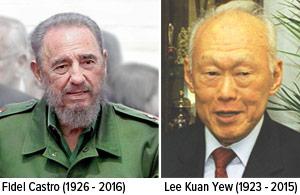 Lee-Kuan-Yew-Fidel-Castro 03252015
