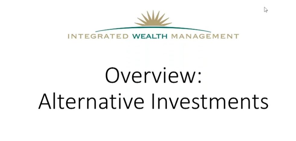 Overview: Alternative Investments
