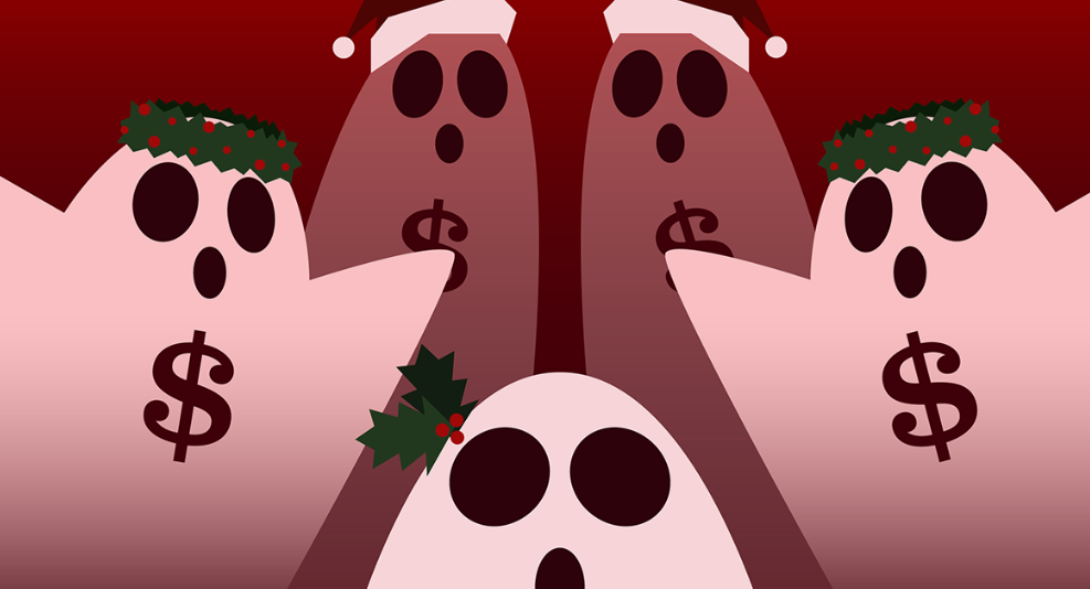 It's a Wonderful Time of Year to Face Financial Ghosts.